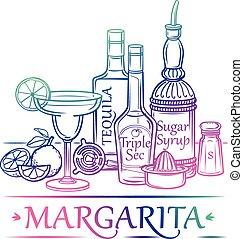 margarita, cóctel