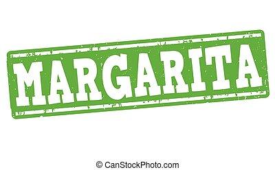 Margarita cocktail stamp