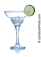 Margarita glass - Margarita cocktail glass isolated on...