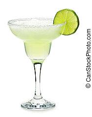 margarita, in, een, glas