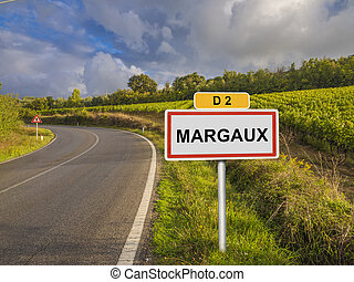 Margaux wine region of France