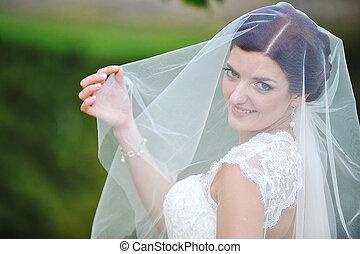 mariée, beau