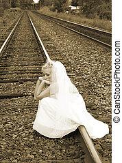 mariée, fugitif