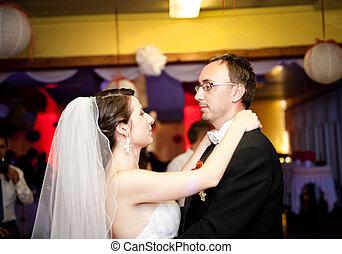 mariée, palefrenier
