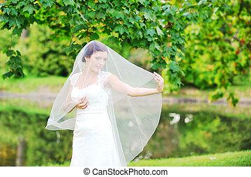 mariée, robe blanche
