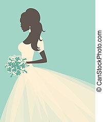 mariée, romantique