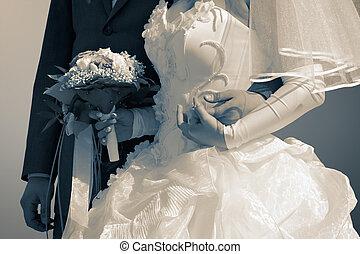 mariés, puits