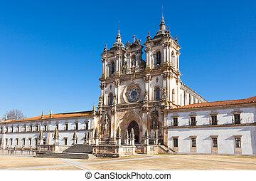 maria, portugal, de, mosteiro, alcobaca, santa