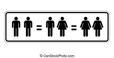 mariage, égalité