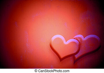 mariage, carte rouge, invitation