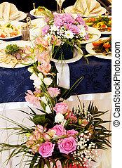 mariage, hall banquet
