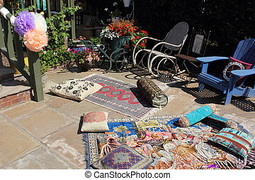 mariage, jardin anglais