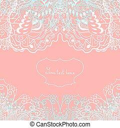 mariage, salutation, ou, carte, invitation