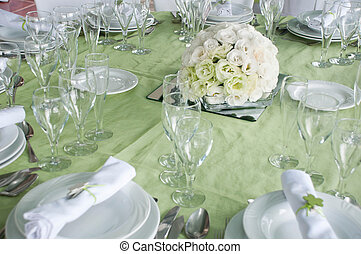 mariage, table