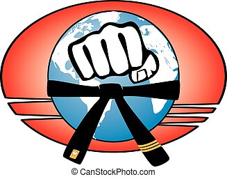 marial arts world power fist - power fist MMA, KARATE,...