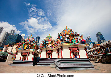 mariamman, sri, 寺院, シンガポール