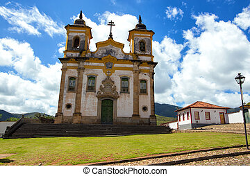 Mariana old city - Church in the beautiful old town in...