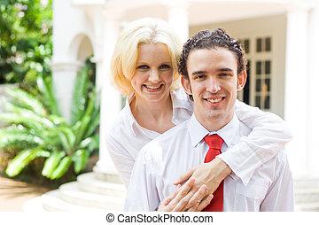 marido, esposa