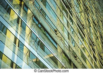 Marie-Elisabeth-Lueders-House in Berlin - detail of the...