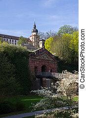 Marienberg Fortress in Wurzburg.