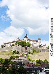 Marienberg Fortress, Wurzburg, Bavaria, Germany