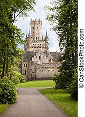 marienburg, niemcy, zamek
