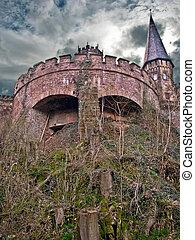 marienburg, toren, oude duitsland, kasteel