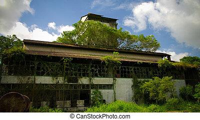 marienburg, vroegere, fabriek, suriname, rum