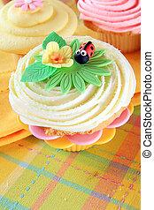 marienk�fer, cupcake