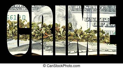 marihuána, bűncselekmény