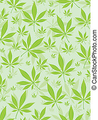 marihuana, blättert, hintergrund