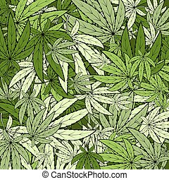 marihuana, hintergrund, eps, 10