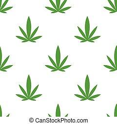 marihuana, hintergrund, seamless, muster, beschaffenheit, cannabis