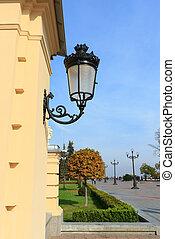 mariinsky, kiev, paleis, lantaarntje