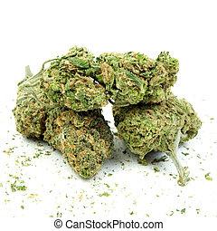 Marijuana and Cannabis Background and Pattern