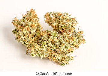 Marijuana Buds - Close up of medicinal marijuana buds oh ...