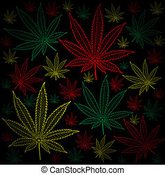 Marijuana-Cannabis-background