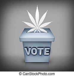 Marijuana Election Issue - Marijuana election political...