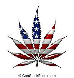 marijuana, en, el, estados unidos de américa