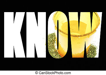 Marijuana Information and Education, Know , Text and Image