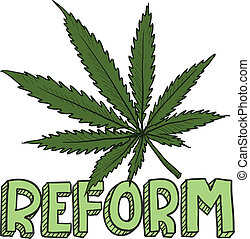 Marijuana law reform sketch