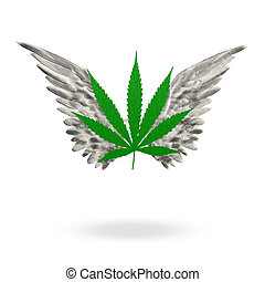 Marijuana Leaf High
