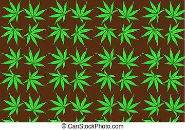 Cannabis plant background ,