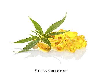 marijuana., monde médical