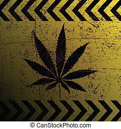 marijuana, segno