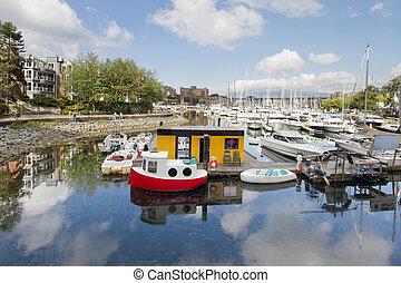 Marina at Granville Island Vancouver BC - Marina at...