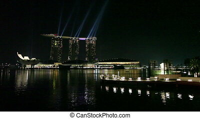 Marina Bay Sands Resort at Night