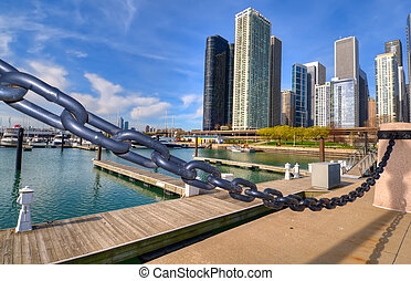 marina, chicago