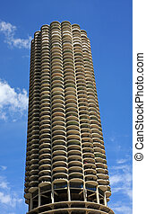 Marina City in Chicago