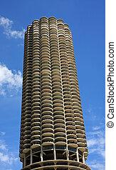 Marina City in Chicago